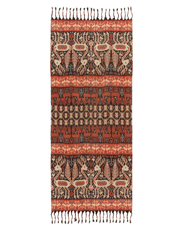 hip cloth with deer motif