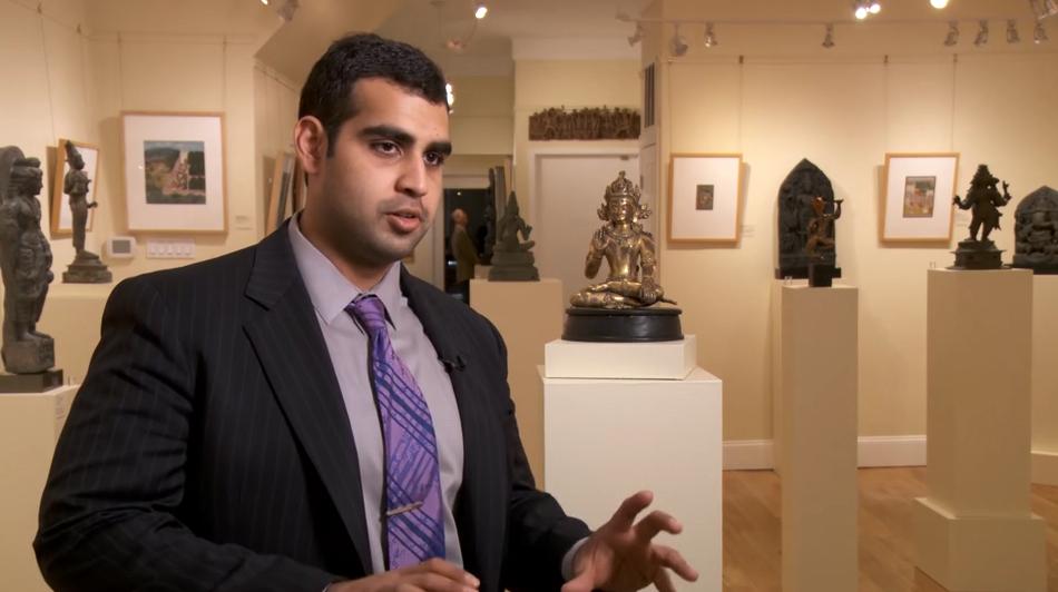 asian Galleries art video