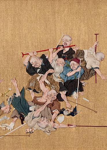 Blind Men Brawling