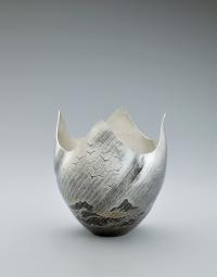 Silver Vase Araiso